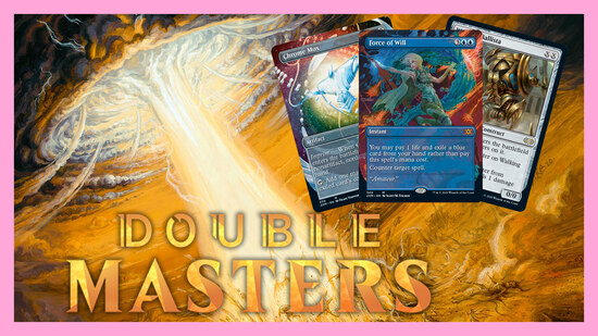 Image for Double Masters Spoilers — July 24 | Force of Will, Land Tax, Chrome Mox