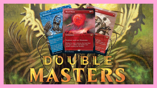 Image for Double Masters Spoilers — July 27 | Fatal Push, Brainstorm, Blood Moon