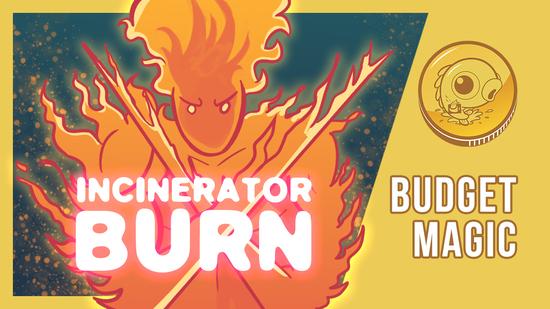 Image for Budget Magic: Incinerator Burn (Modern)