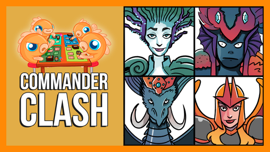Image for Commander Clash S9 E5: 5 Tix Decks! | Arcades vs. Feather vs. Talrand vs. Tatyova