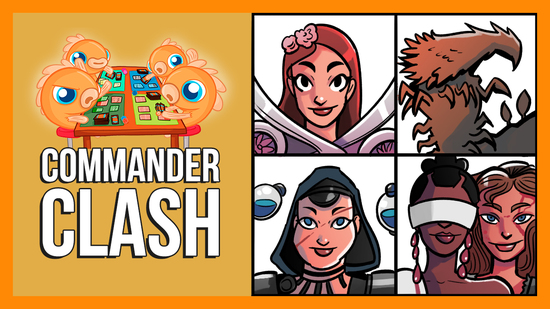 Image for Commander Clash S9 E6: CEDH | Kess vs. Najeela vs. The First Sliver vs. Tana & Tymna