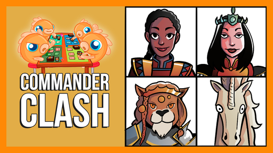 Image for Commander Clash S9 E7: Anything Goes | Emiel vs. Marchesa vs. Nazahn vs. Sisay