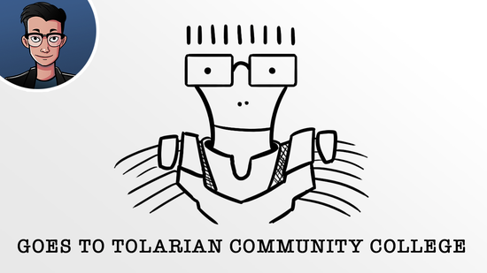 Image for Crimmander Interviews: Crim Goes to Tolarian Community College