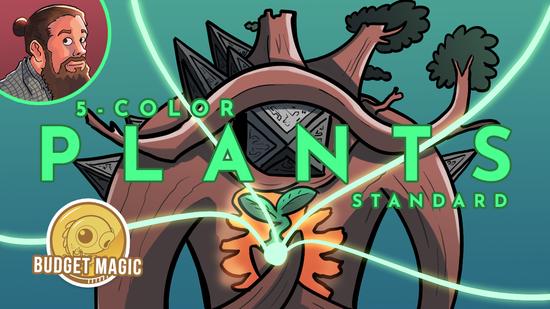 Image for Budget Magic: Five-Color Plants (Standard)
