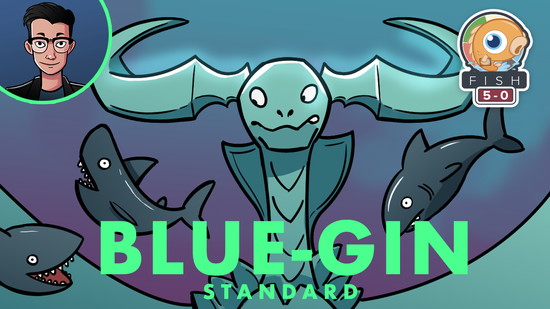 Image for Fish Five-0: Blue-gin