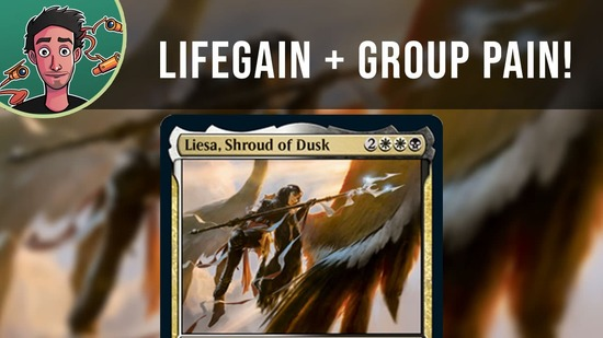 Image for The Fourth Sister Revealed! | Liesa, Shroud of Dusk | Commander Legends Preview