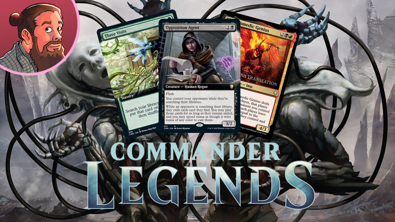 Image for Commander Legends Spoilers — October 27 | Magus of Natural Order, Three Visits, Rakdos Donate