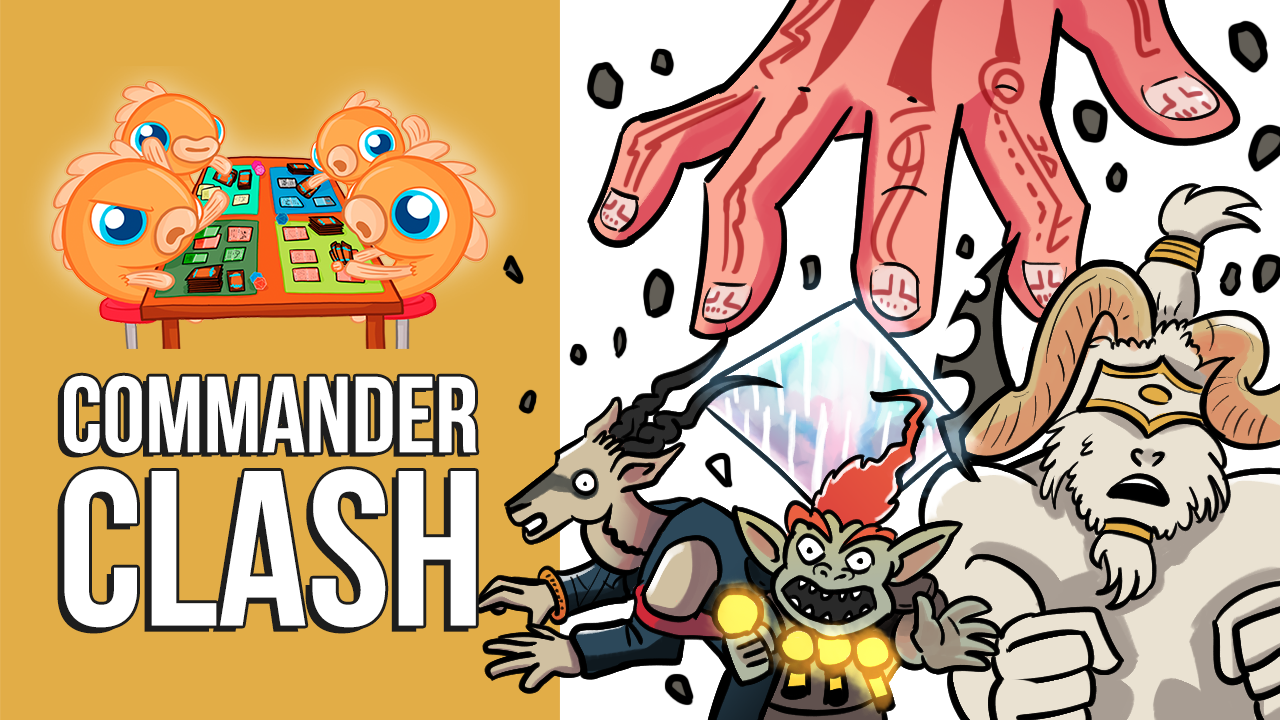 Image for Commander Clash S9 E18: CHAOS! | Pramikon vs. Ruhan vs. Zedruu vs. Kraum & Vial Smasher