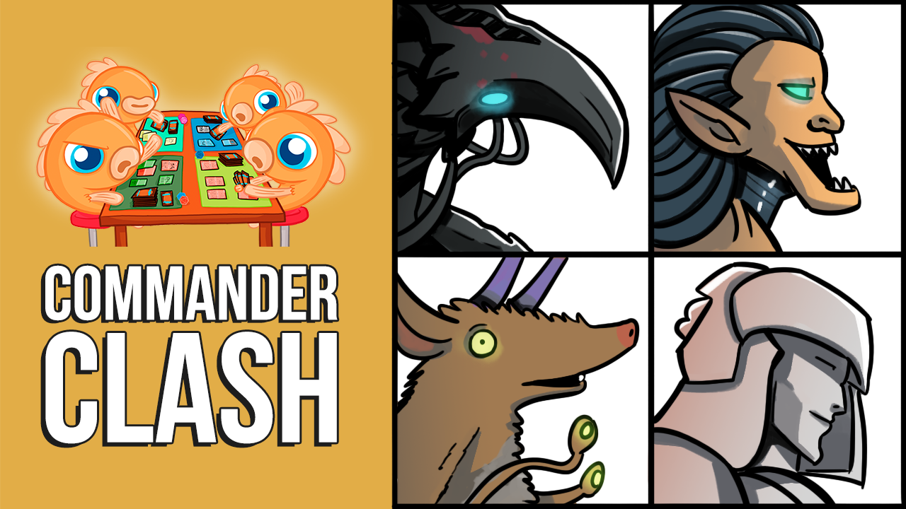 Image for Commander Clash S9 E19: Viewer Submitted Decks | Brudiclad vs. Ezuri vs. Mageta vs. Tayam