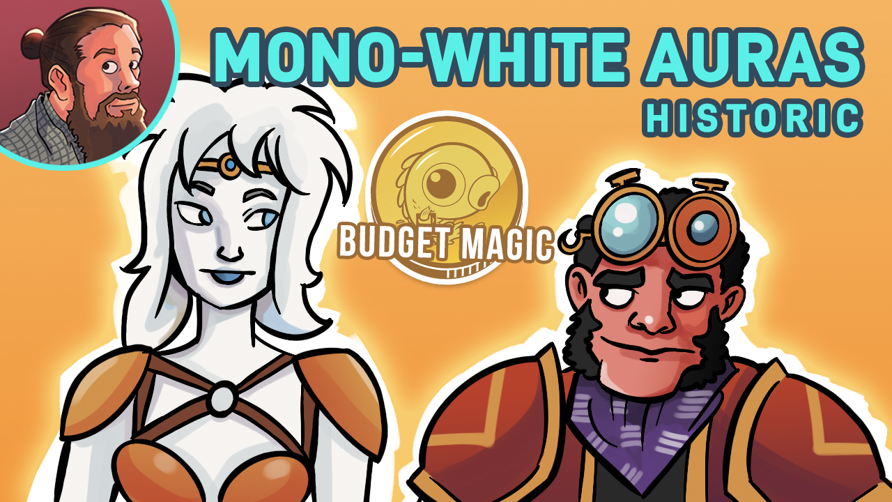 Image for Budget Magic: 15-Rare Mono-White Auras (Historic)