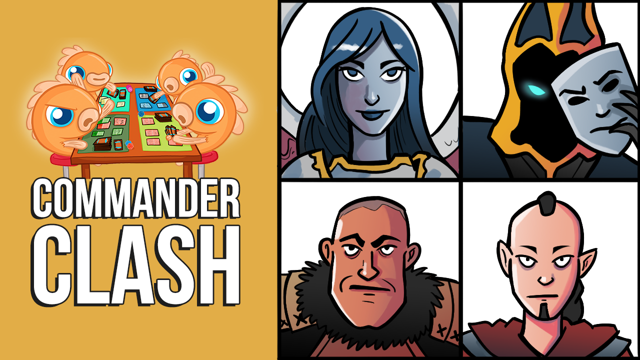 Image for Commander Clash S9 E20: OG Commander Legends | Akroma vs. Baron Sengir vs. Kamahl vs. Sakashima