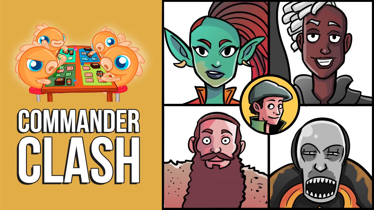 Image for Commander Clash S9 E22: Commander Legends with Gavin! | Obeka vs. Nevinyrral vs. Hans vs. Wyleth