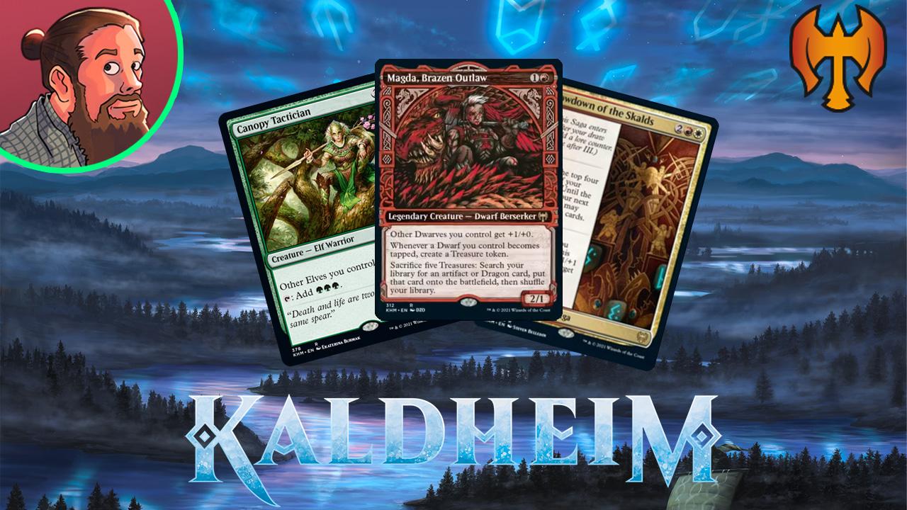 Image for Kaldheim Spoilers — December 16 | Legendary Dwarf, Colorless Birthing Pod