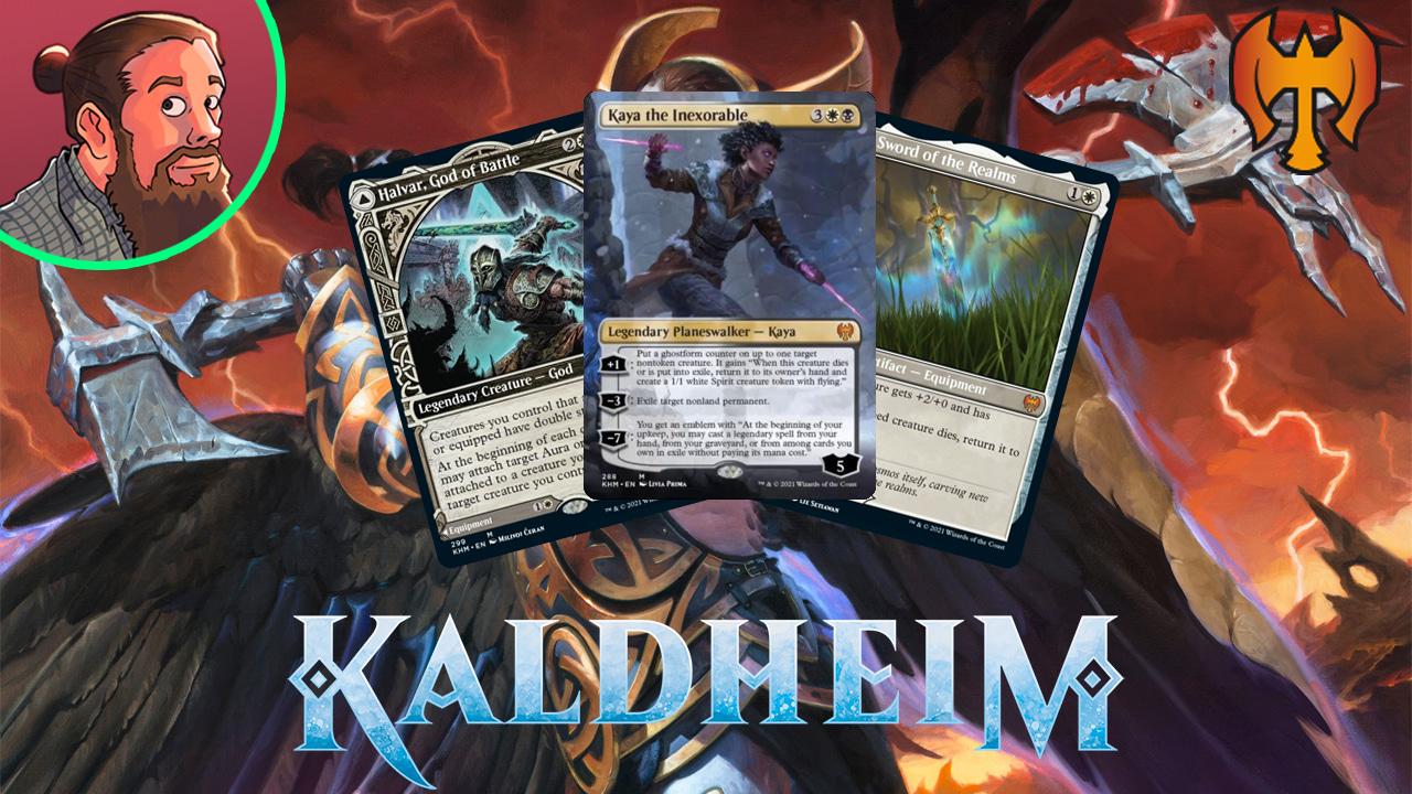 Image for Kaldheim Spoilers — December 17 | Kaya and Halvar, God of Battle