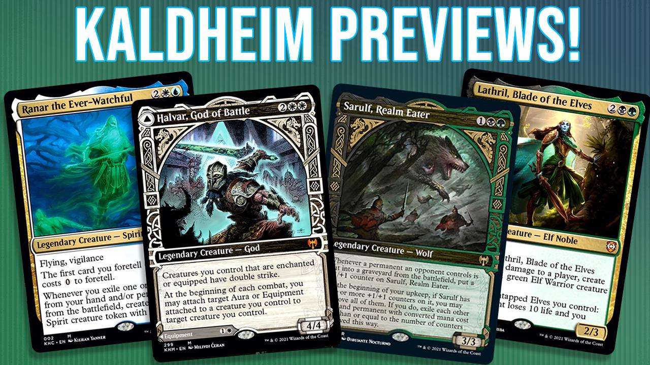 Image for Analyzing Four New Kaldheim Commanders! | Halvar | Ranar | Sarulf | Lathril