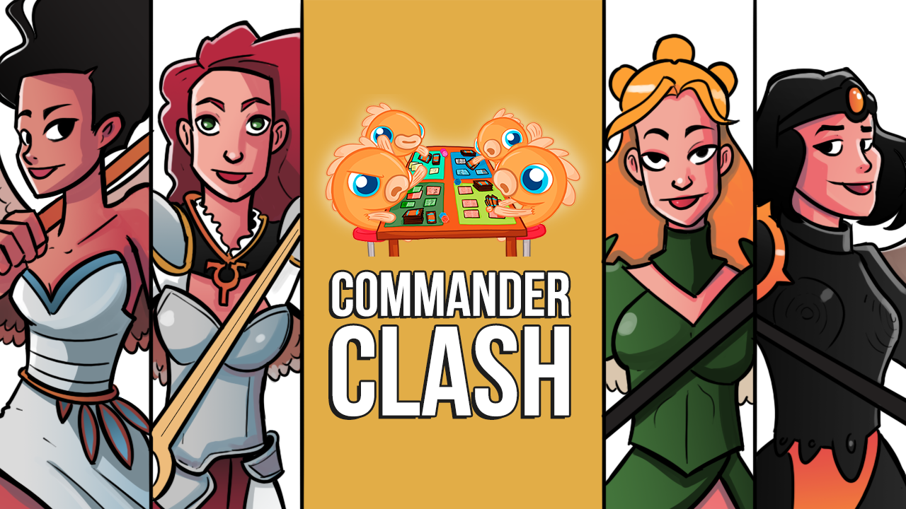 Image for Commander Clash S9 E26: Angel Sisters of Innistrad | Bruna vs. Gisela vs. Liesa vs. Sigarda