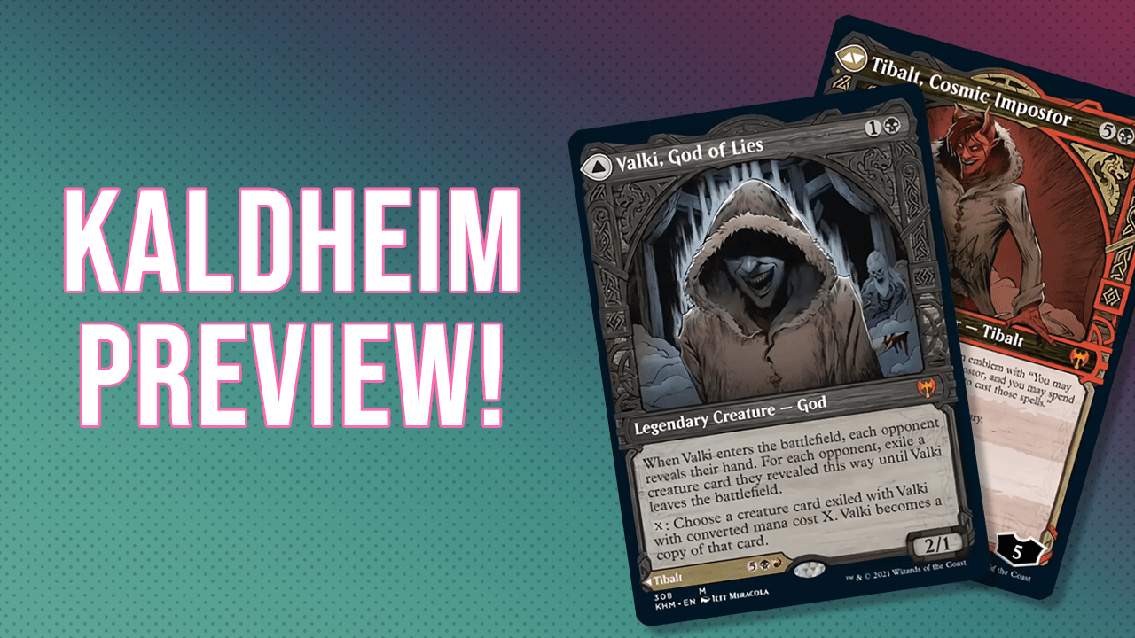 Image for Is New Tibalt Actually Good? | Valki, God of Lies // Tibalt, Cosmic Impostor | Kaldheim Preview