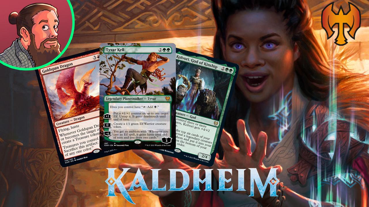 Image for Kaldheim Spoilers — January 8 | New Elf Planeswalker!