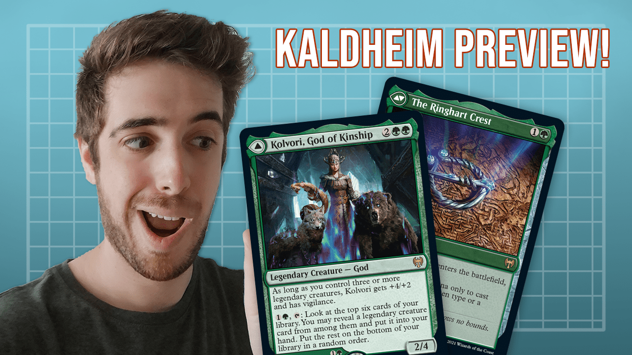 Image for Legendary Creature Support! | Kolvori, God of Kinship | Kaldheim Preview