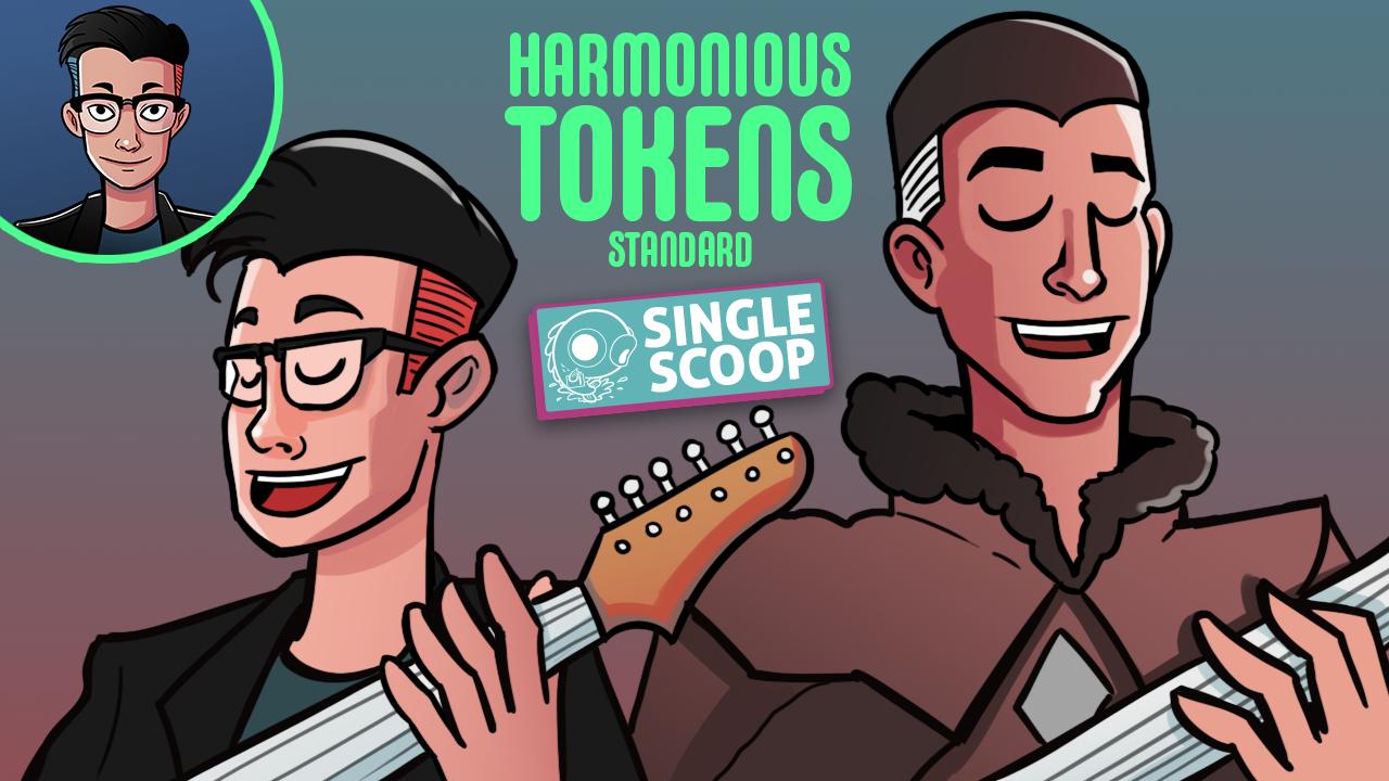 Image for Single Scoop: Harmonious Tokens (Standard, Magic Arena)