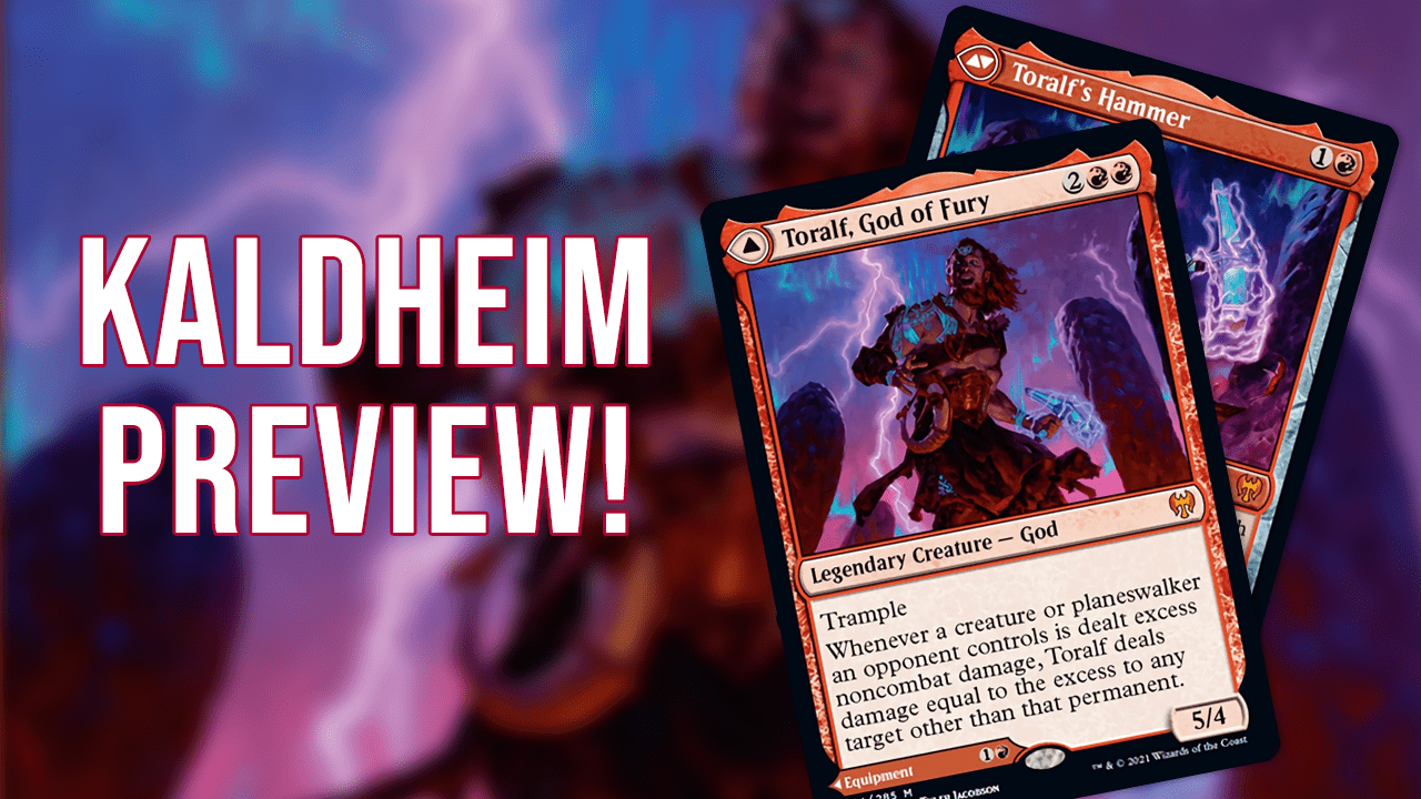 Image for The God of BURN! | Toralf, God of Fury | Kaldheim Preview