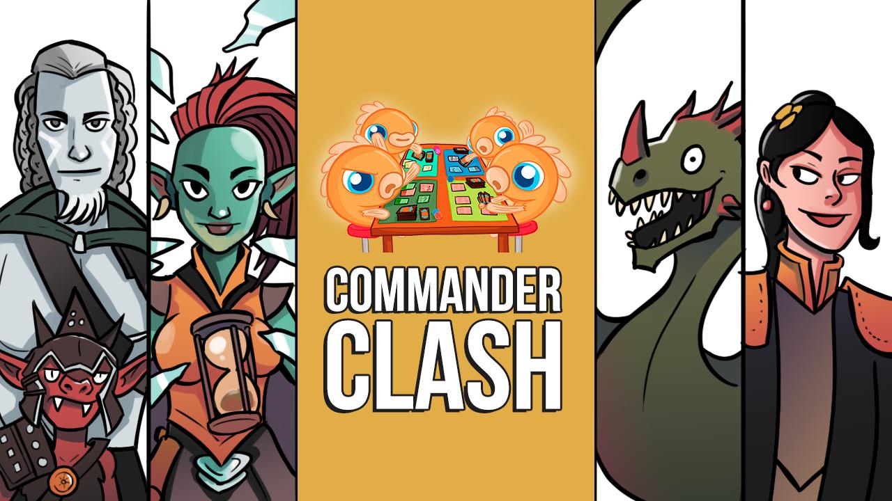 Image for Commander Clash Special: Webcam EDH! Obeka vs. Ardenn & Rograkh vs. Marchesa vs. Ur-Dragon