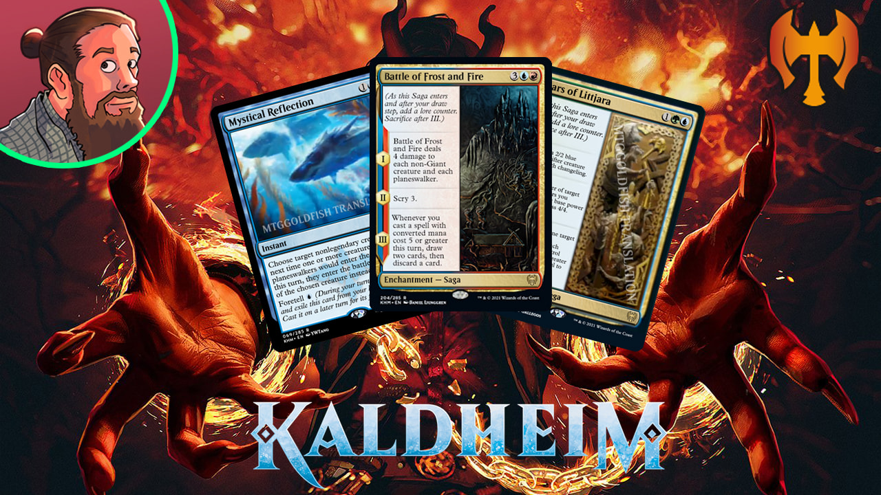 Image for Kaldheim Spoilers — January 13 | Saga Wrath