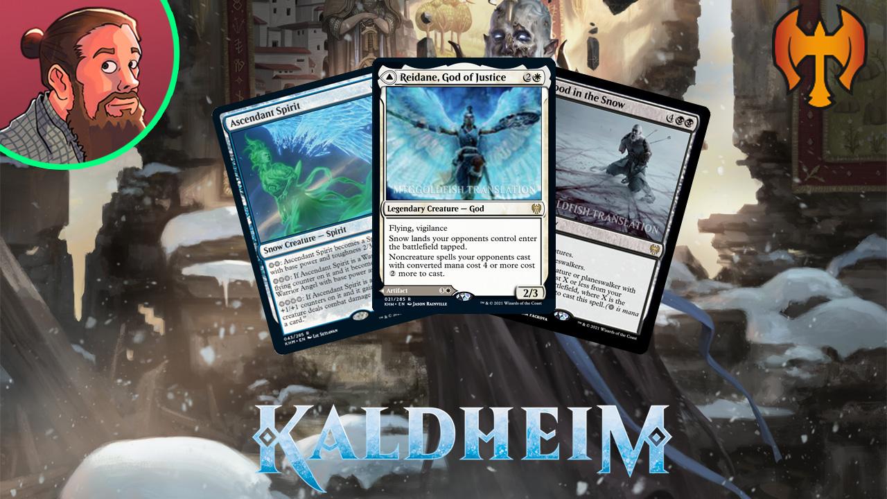 Image for Kaldheim Spoilers — January 14 | Snow Hate God, Snow Figure of Destiny, Snow Wrath