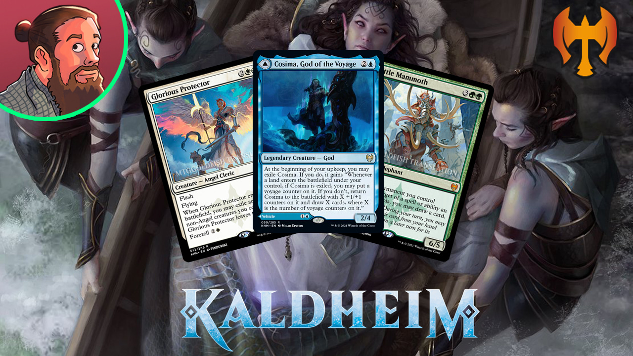 Image for Kaldheim Spoilers — January 15 | Big Green Mythic
