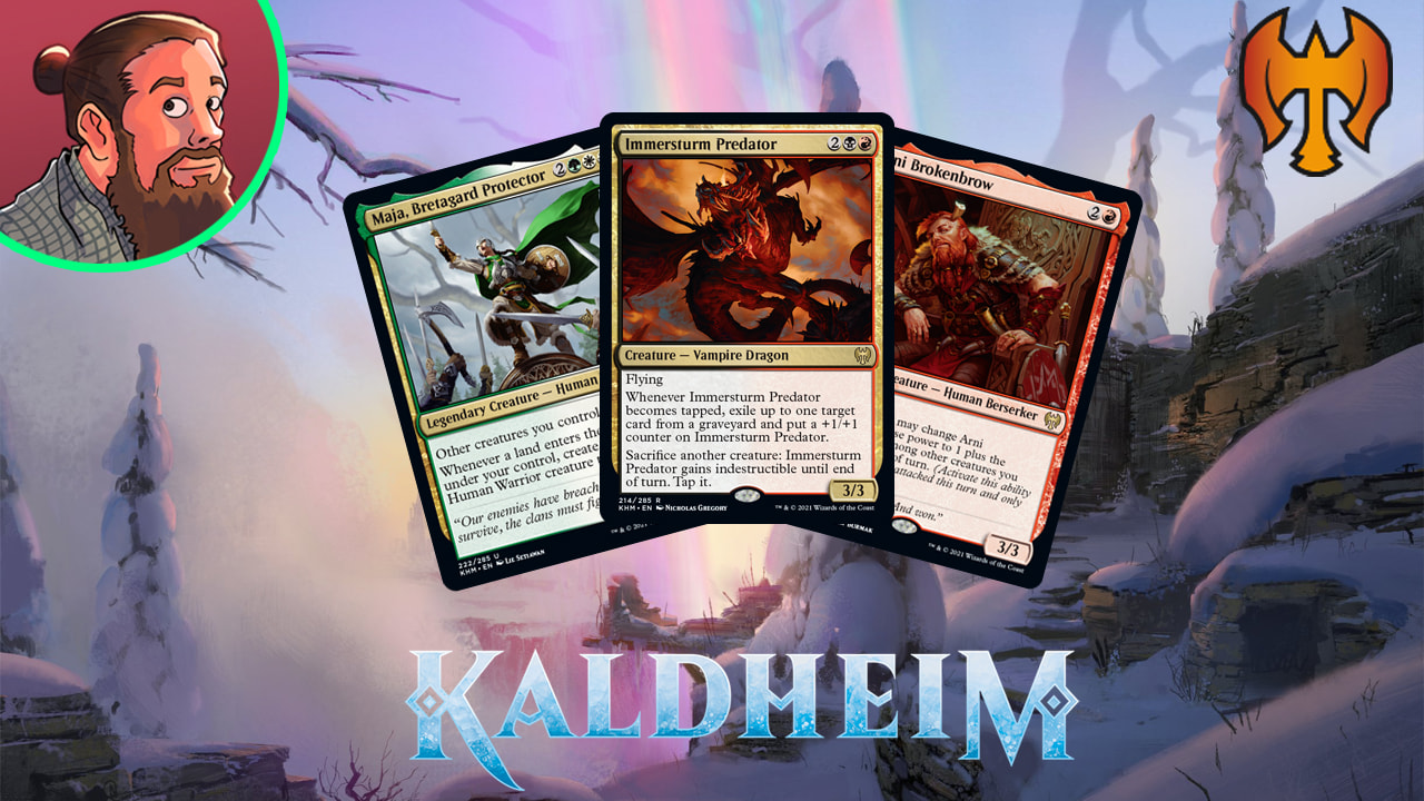 Image for Kaldheim Spoilers — January 16 | Vampire Dragon