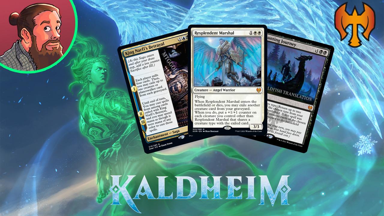 Image for Kaldheim Spoilers — January 19 | Tribal Mass Reanimation, Runes