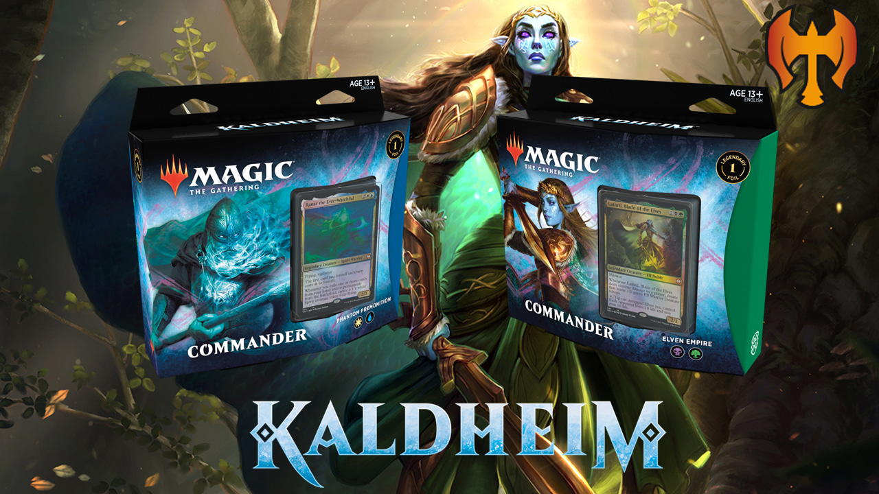 Image for Kaldheim Commander Decklists