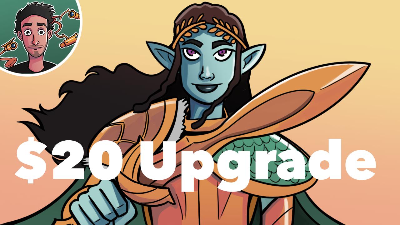 Image for Elven Empire Precon Upgrade   $20, $200   Elfball   Tokens   Sacrifice
