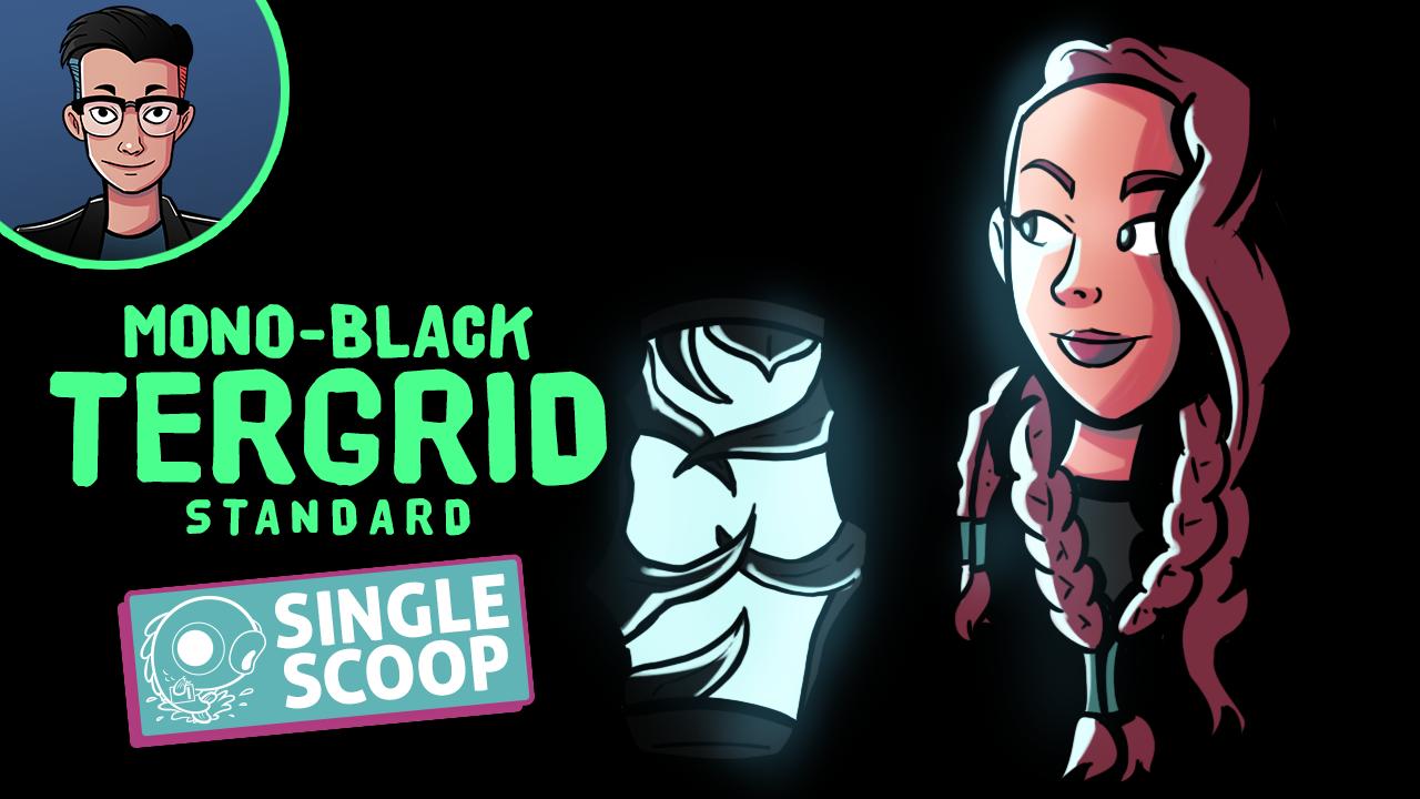 Image for Single Scoop: Mono Black Tergrid (Standard, Magic Arena)