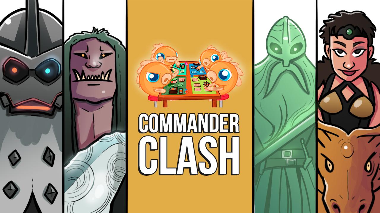 Image for Commander Clash S10 E2: Kaldheim Clash | Aegar vs. Magda vs. Svella vs. Ranar