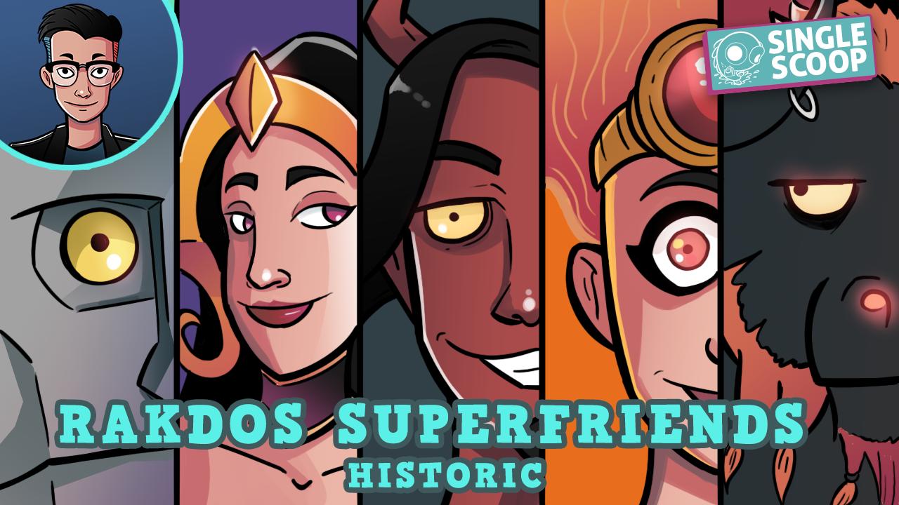 Image for Single Scoop: Rakdos Superfriends (Historic, Magic Arena)