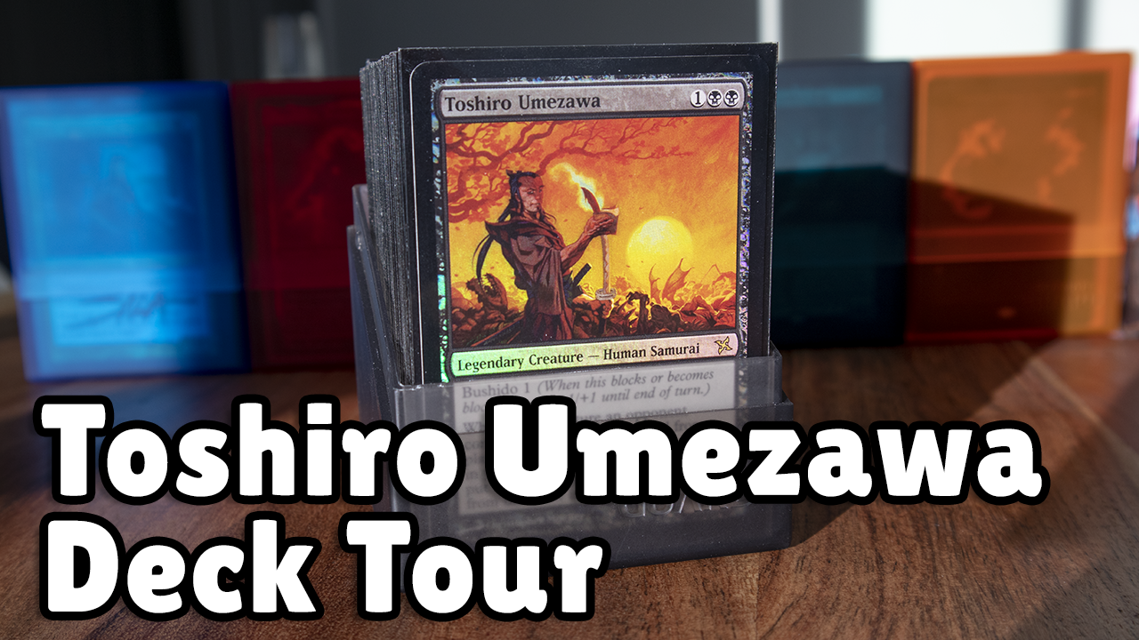 Image for Tomer's Toshiro Umezawa Deck Tour | Mono Black Spellslinger Control