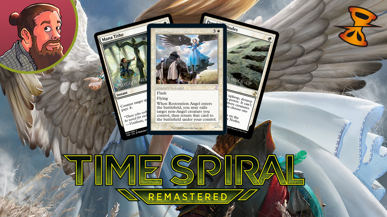 Image for Time Spiral Remastered Spoilers — February 25 | Restoration Angel, Cranial Plating