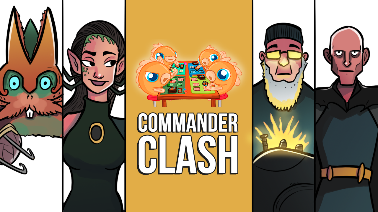 Image for Commander Clash S10 E4: Viewer Submitted Decks | Arcum Dagsson vs. Belbe vs. Endrek Sahr vs. Toski
