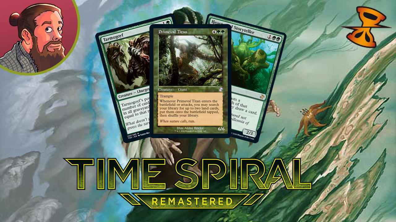 Image for Time Spiral Remastered Spoilers — March 3 | Tarmogoyf, Primeval Titan, Farseek