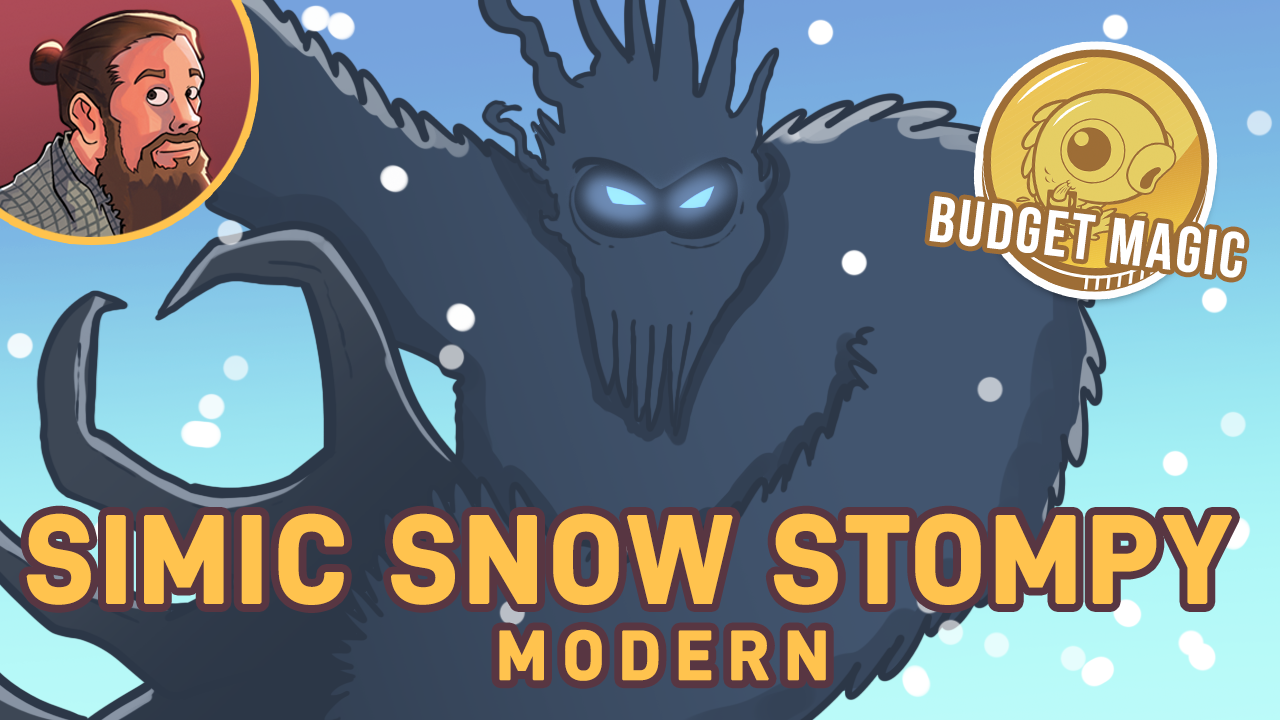 Image for Budget Magic: $90 Simic Snow Stompy (Modern)