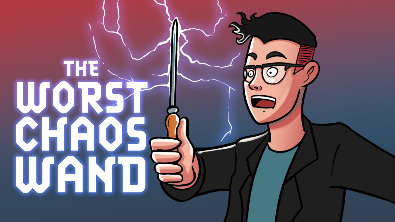 Image for The Worst Chaos Wand   Commander Clash Moment #9