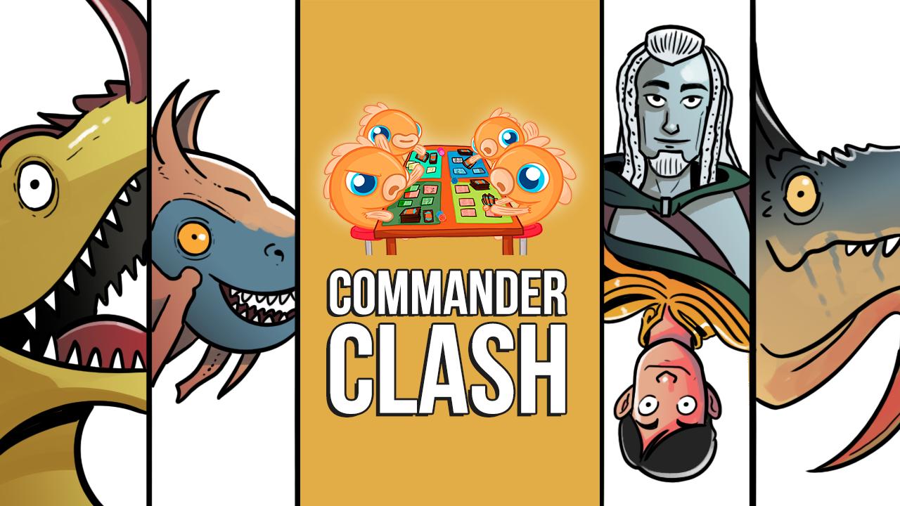 Image for Commander Clash S10 E6: TOKENS! | Akim vs. Rith vs. Ur-Dragon vs. Ardenn & Silas