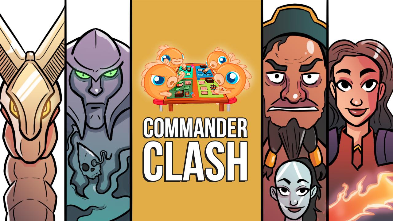 Image for Commander Clash S10 E7: Anything Goes w/ Adriano! | Ramos vs. Syr Gwyn vs. Volrath vs. Akiri & Dargo