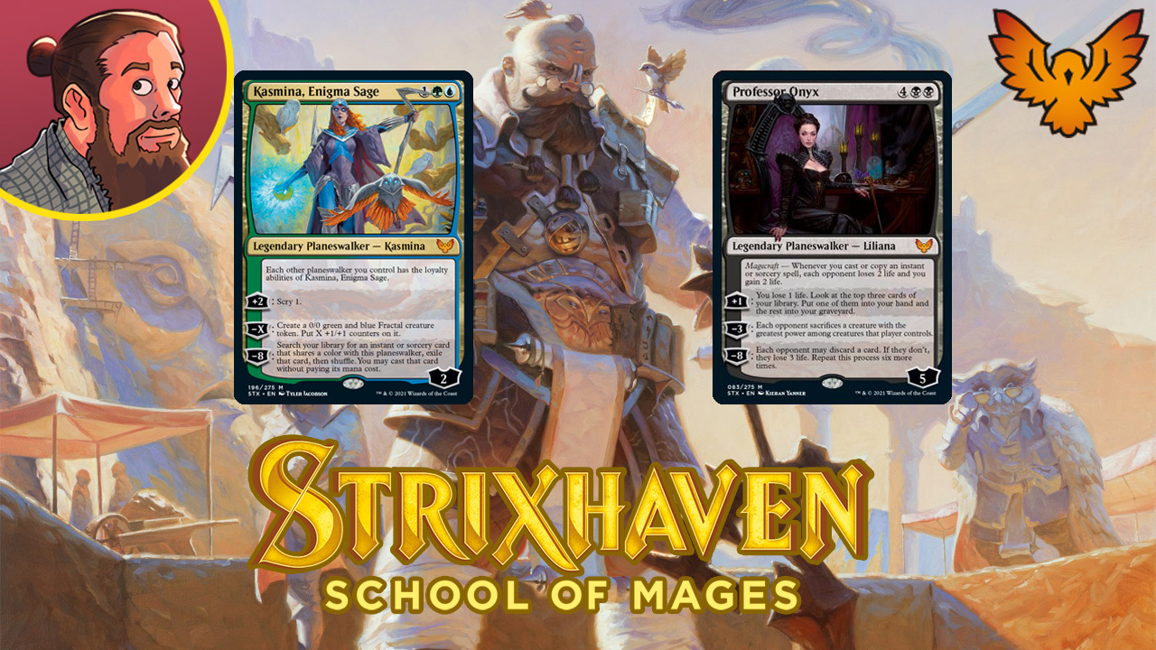 Image for Strixhaven: School of Mages Spoilers — March 22 | New Liliana and Kasmina