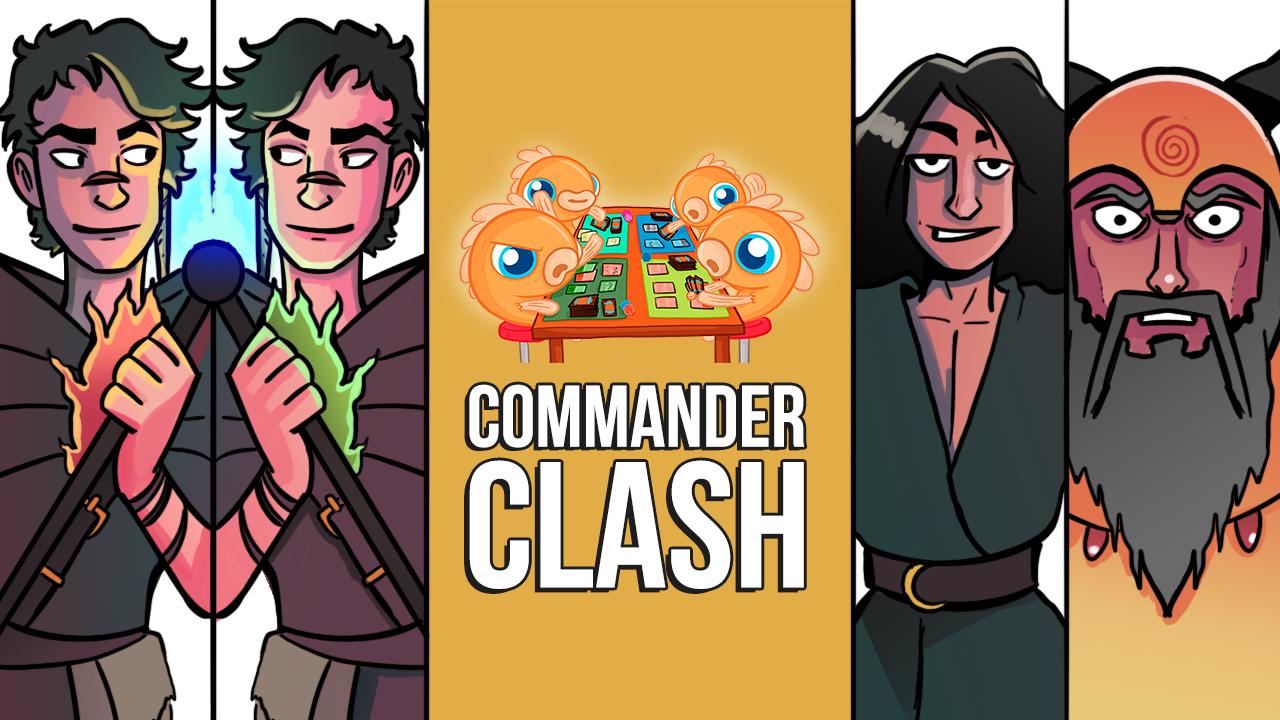 Image for Commander Clash S10 E8: 2v2! | Friendship Week