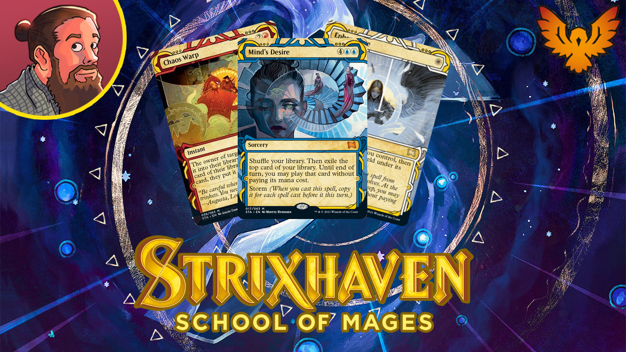 Image for Strixhaven: School of Mages Spoilers — March 26   Brainstorm, Teferi's Protection, Chaos Warp
