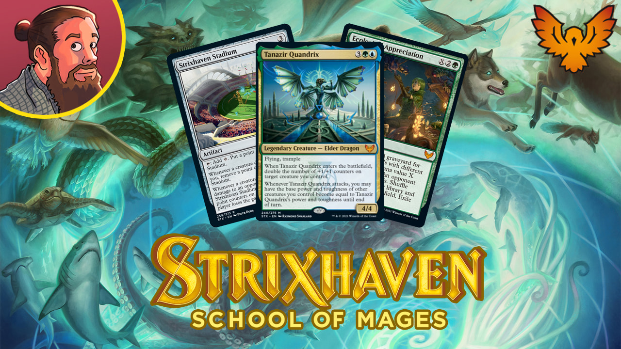 Image for Strixhaven: School of Mages Spoilers — March 31   Strixhaven Stadium, Green Tutor