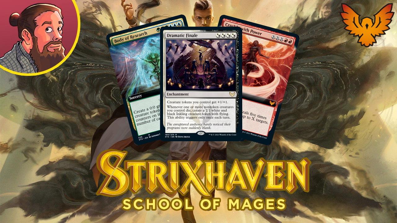 Image for Strixhaven: School of Mages Spoilers — April 1 | 6-mana 45/45 Token
