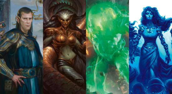 Image for Commander Clash: Edric, Glissa, Omnath, Sen Triplets